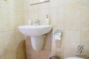 Apartment for Rent Short Term in Blagoevgrad Bulgaria in Elenovo Bathroom with Shower Milano