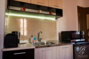 Kitchenette Fully Equipped for Rent in Blagoevgrad Bulgaria 2018 Milano Italian Style
