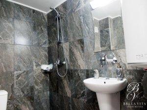Luxury Bathroom with Shower Stylish Managed in Downtown Blagoevgrad Bulgaria
