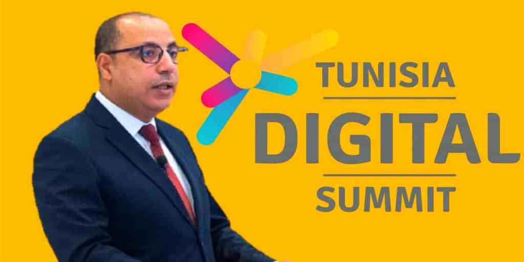 Hichem Mechichi PM opens the Tunisia Digital Summit 2020