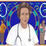 Tawhida Ben Cheikh celebrated by Google Doodles on her special day