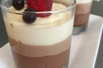 Recipe – Layered SWISS Chocolate Mousse