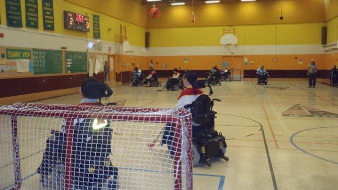 TPWHL action shot