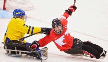Sochi Sledge Hockey