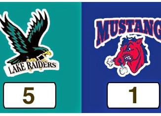 TPWHL Lake Raiders vs Mustangs