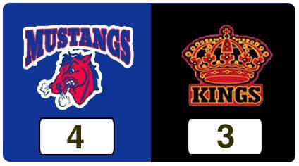 TPWHL Mustangs vs Kings