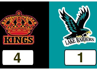 TPWHL Kings vs Lake Raiders