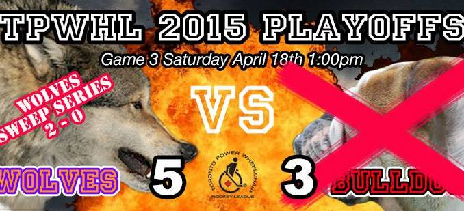 TPWHL Wolves vs Bulldogs