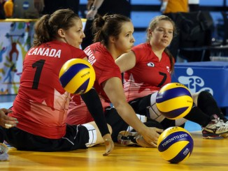 Sitting volleyball