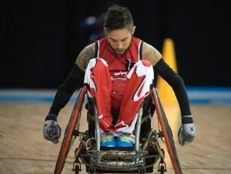 Wheelchair Rugby Trevor Hirschfield