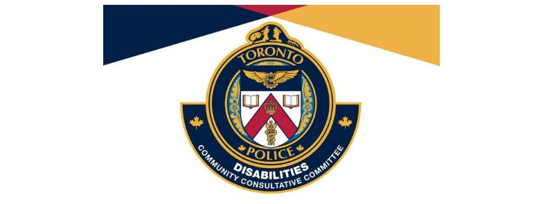 Logo for Toronto Police Disabilities Community Consultative Committee