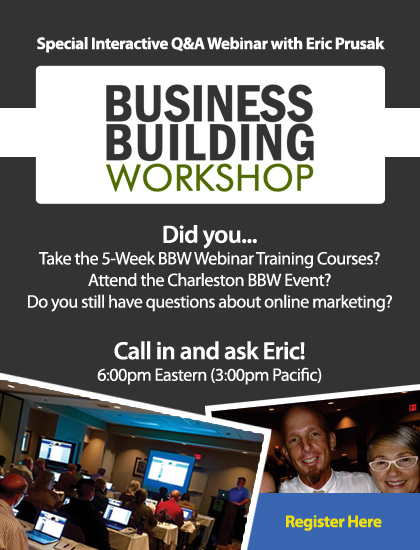 EWS BBW Webinar - Register here