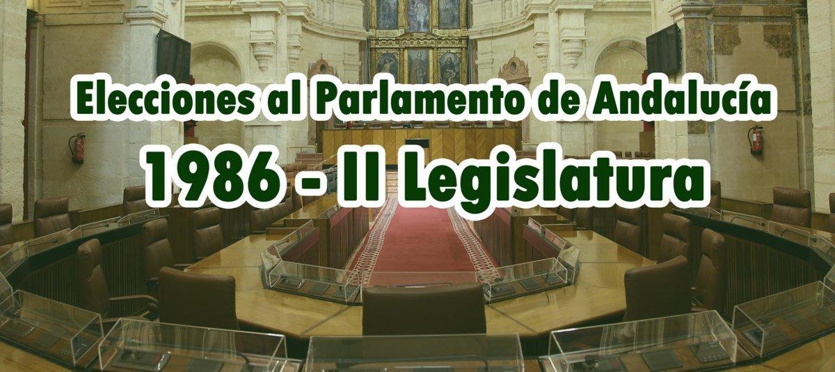 Elecciones Andaluzas 1986