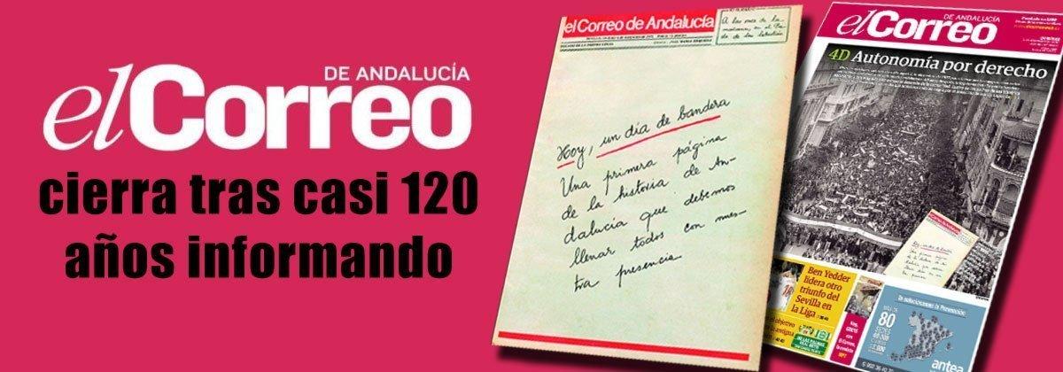 El Correo de Andalucía Cierra