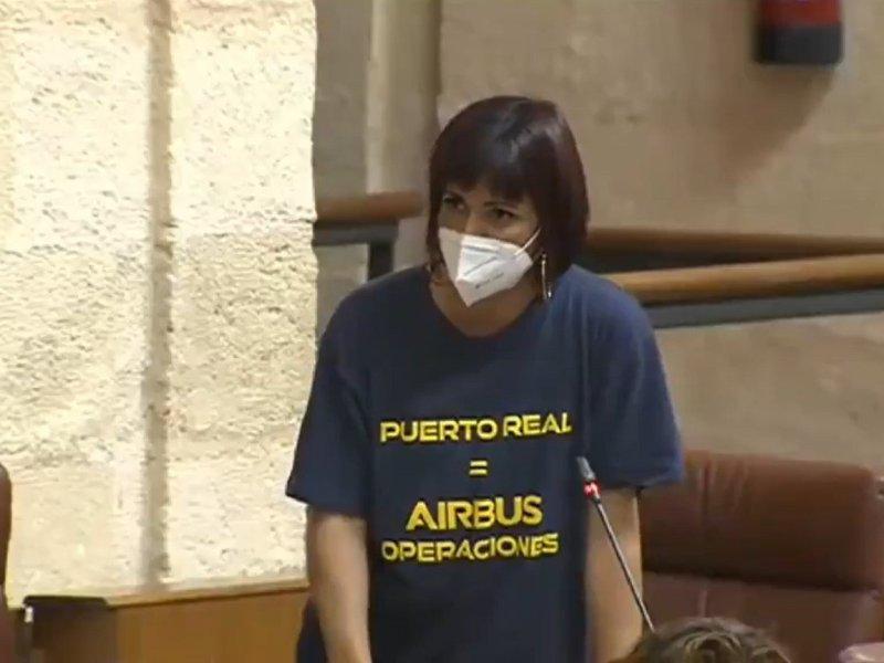 Teresa Rodriguez parlamento