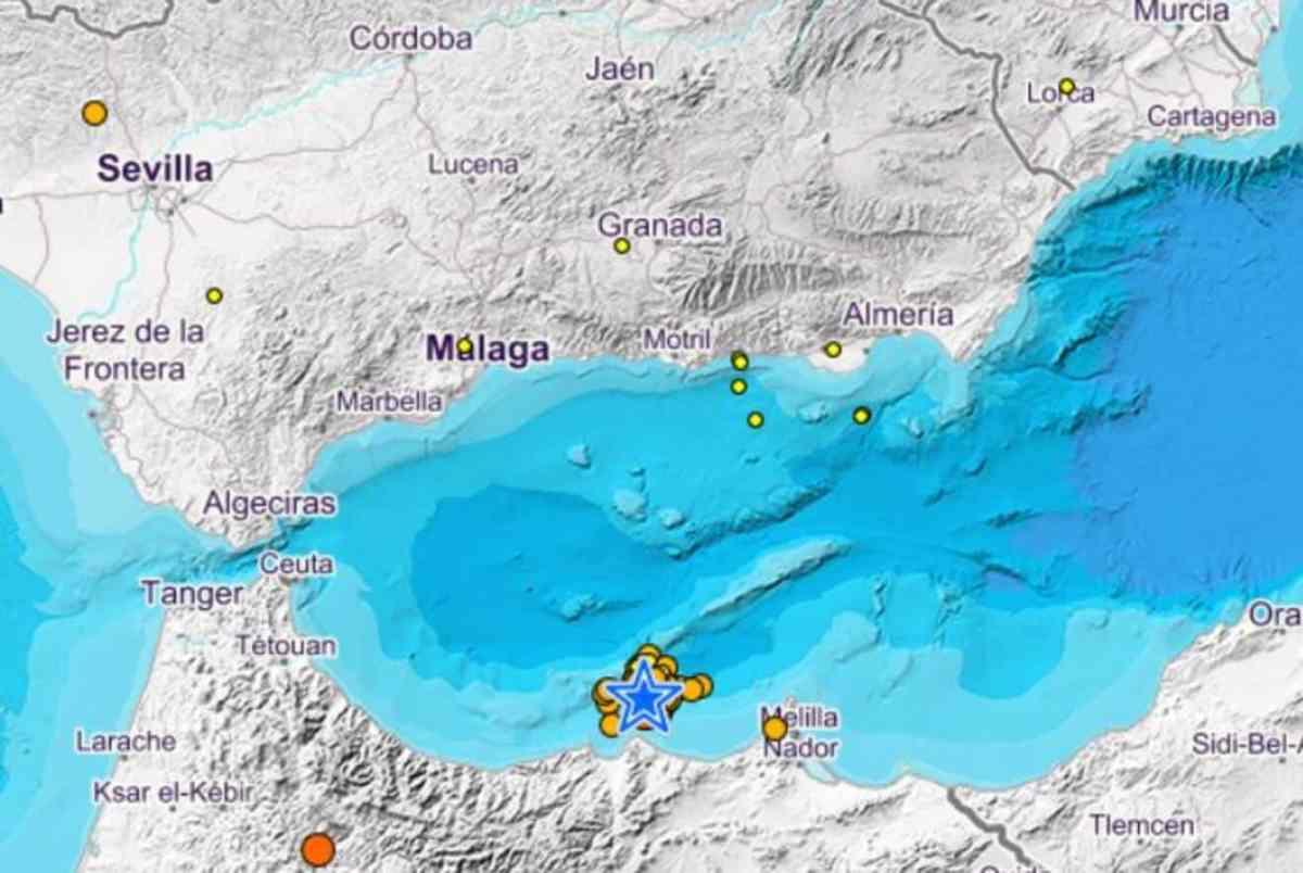 Terremoto en Alborán / EA