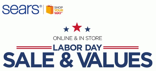 Sears Coupons Labor Day Samurai Blue Coupon