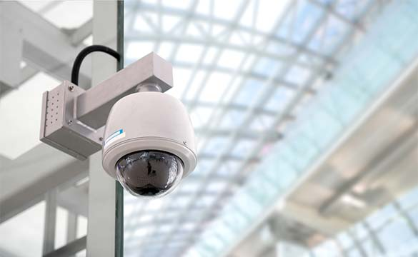 An image of a CCTV estate security system provided by Enborne Estates private estate services