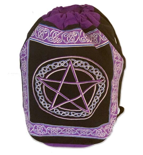 Purple Pentacle Backpack