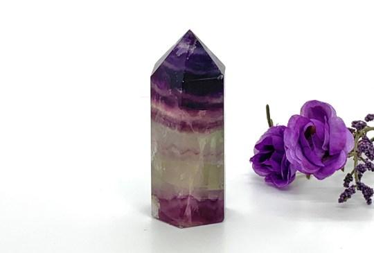 Large Purple Fluorite Point