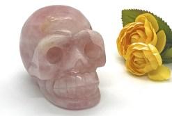Large Rose Quartz Skull