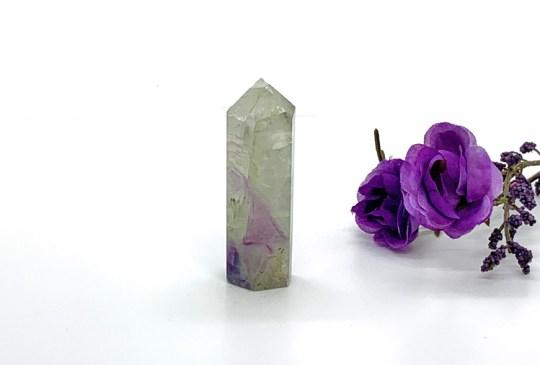 Small Purple Fluorite Point