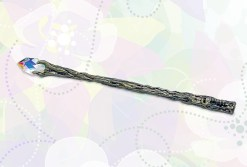 Faery Realm Wand with Faceted Astrian Crystal