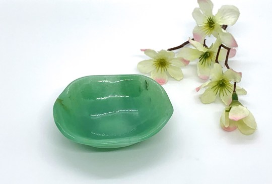 Green Aventurine Offering Bowl