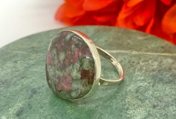 Eudialite in Sterling Silver Ring Size 9
