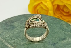Blue Topaz Silver Ring