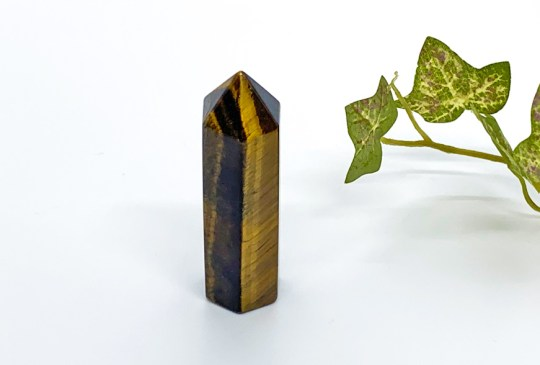 Gold Tigers Eye Point