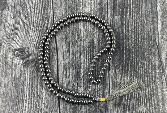Hematite Mala Prayer Beads