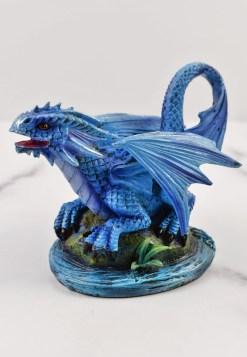Water Dragon Wyrmling Statue