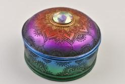 Mandala Trinket Box