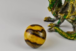 Septarian Calcite Roung Pebble A.K.A. Dragon Scale Stone