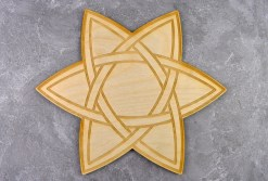 Celtic Star Crystal Grid