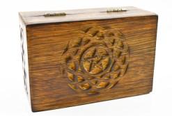 Celtic Pentagram Box