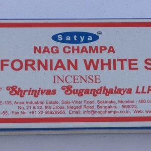 Satya-Californian White Sage-Masala Incense