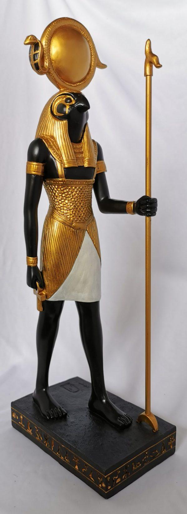 Egyptian Statue Gold Horus