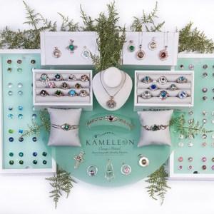 Sterling Kameleon Jewelry Interchangeable JewelPops®