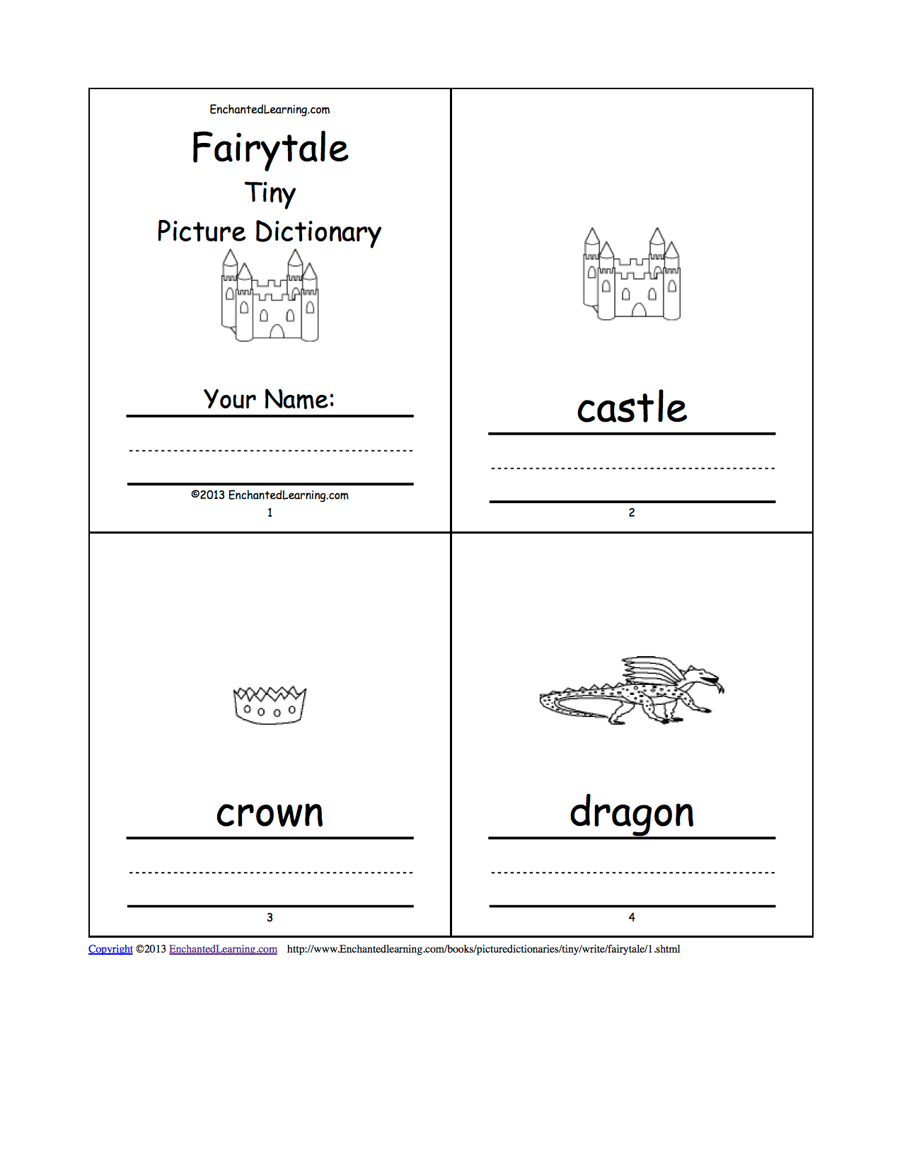 Fairytale Picture Dictionary