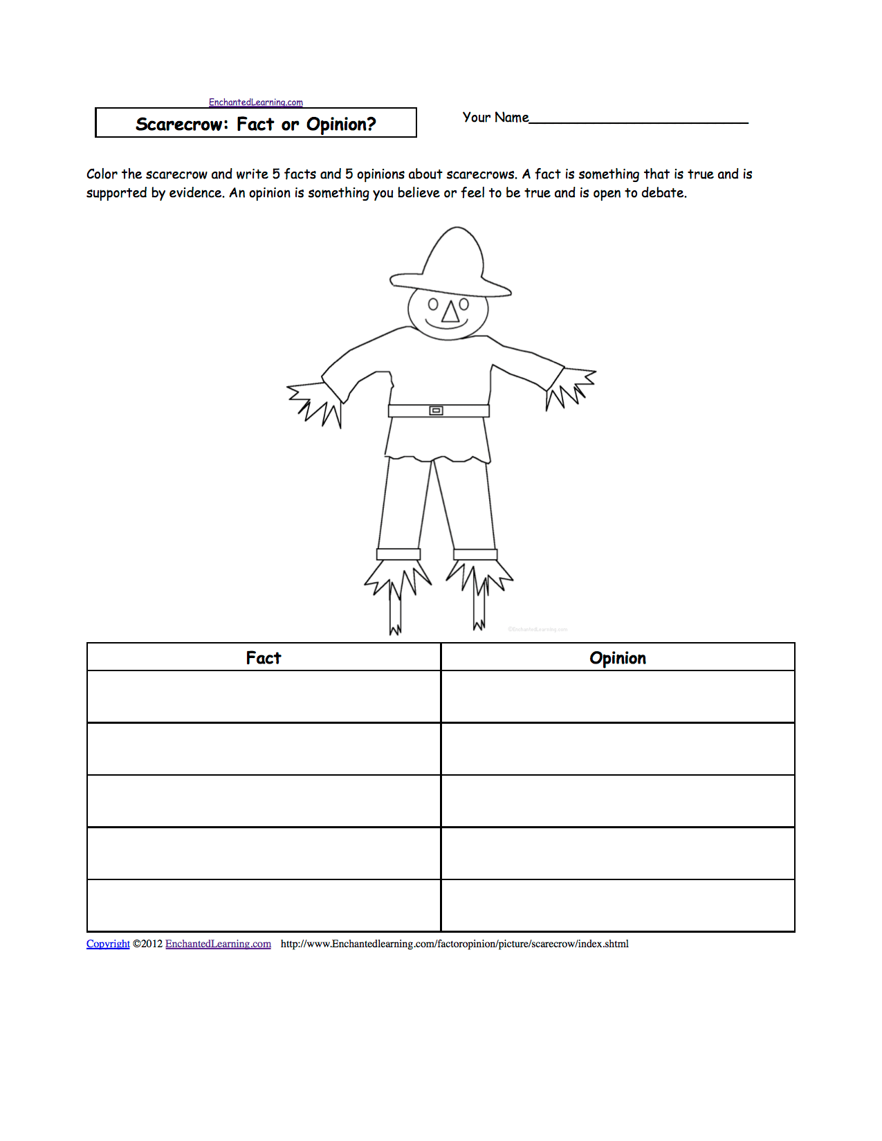 See Usa Worksheet