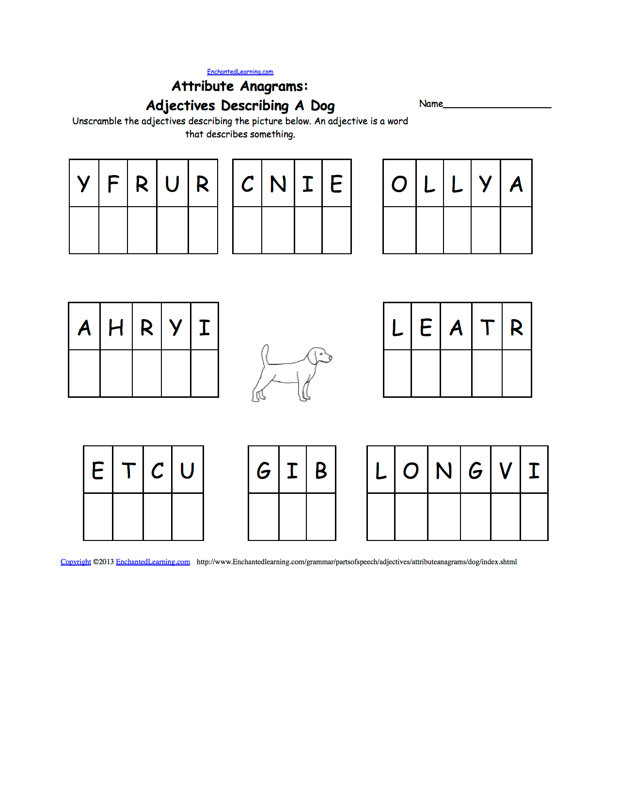 Pets Spelling Worksheets