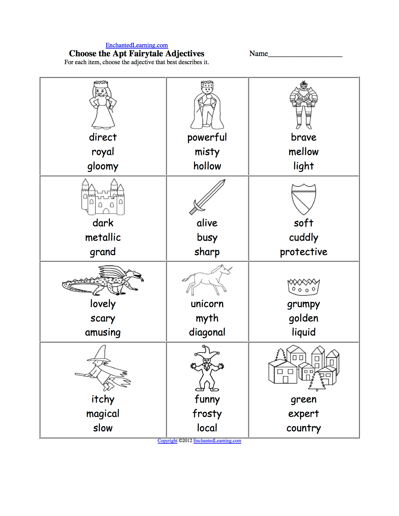 Spelling Worksheets Kings Queens And Castles K 3 Theme