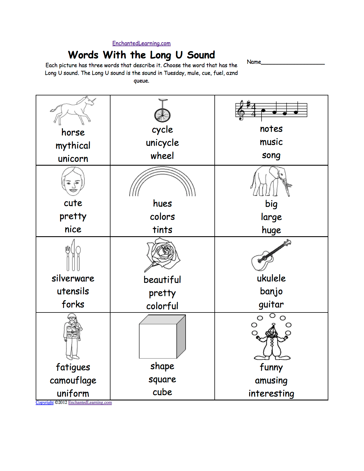 60 Phonics Worksheets Ue Sound Free Download Doc Zip