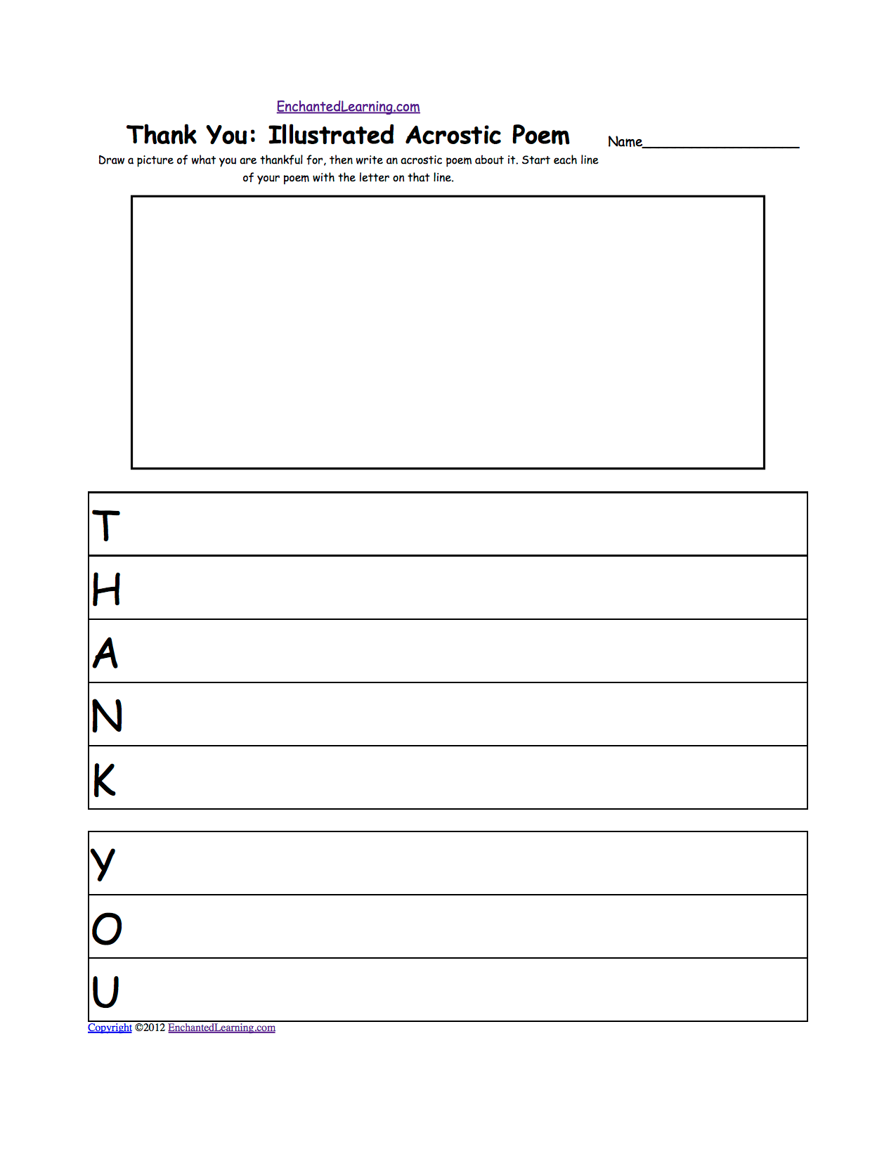 Thankful Worksheet For Students