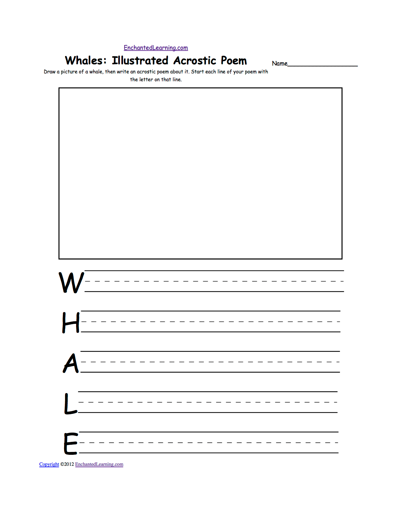Animal Worksheet