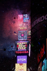 NYE In Times Square Midnight