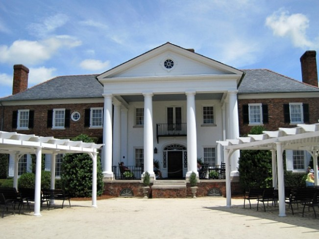 Boone Hall Plantation House The Notebook