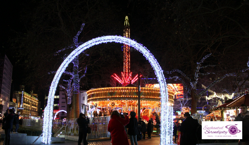 Christmas In London Leicester Square